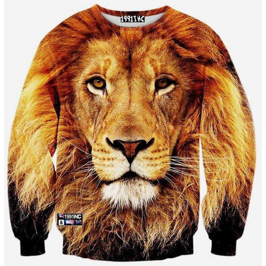 Gold Lion Sweater