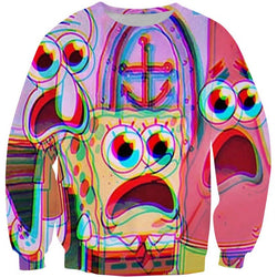 Trippin Spongebob Sweater