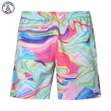 Mr.1991INC Camouflage Style men's casual shorts 3d digital print lovely beach shorts street hip hop short pants
