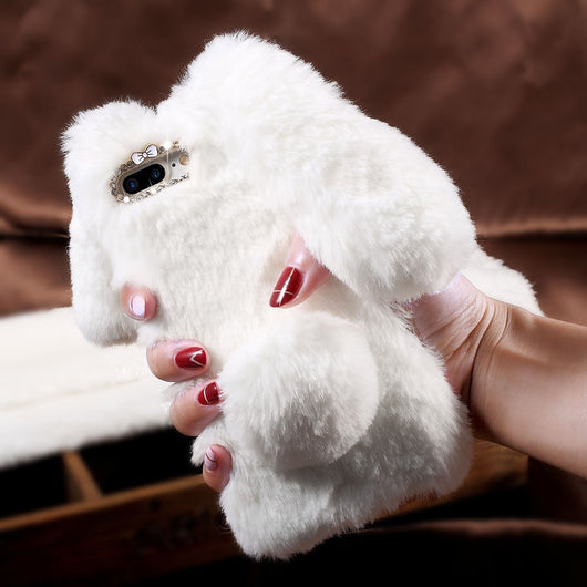 Furry Bunny Phone Case