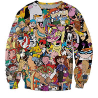 90s Cartoons Sweater