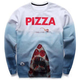 Pizza Jaws Sweater