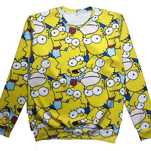 Simpsons Fam Sweater
