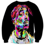 Tupac Painted Sweater