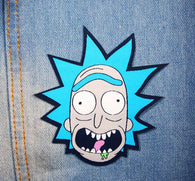Rick Sanchez Patch Rick & Morty Iron-On Patch