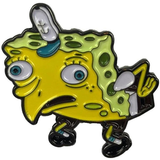 Spongebob Meme Pin