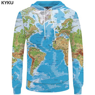 World Map Sweatshirts