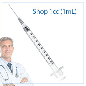 1cc (mL) Syringes and Needles | 1ml Syringe