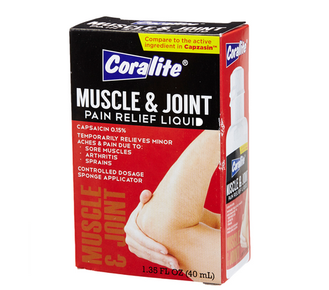 Coralite Muscle & Joint Pain Relief 40mL