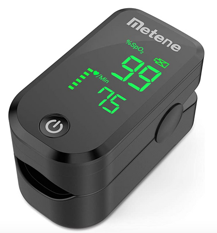 Fingertip Pulse Oximeter LED (check your oxygen level)