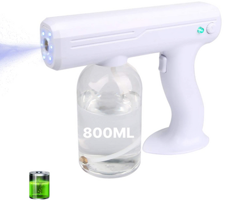Herrio Cordless Electric Disinfectant Fogger, Suitable for Home,Office,Hotel,Car