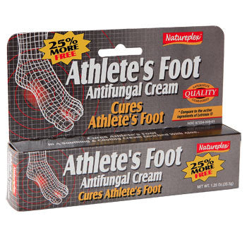 Athletes Foot Antifungal Cream, 1.25 oz.