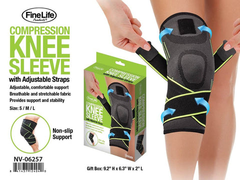 Compression Knee Sleeve for Joint Pain & Arthritis Relief