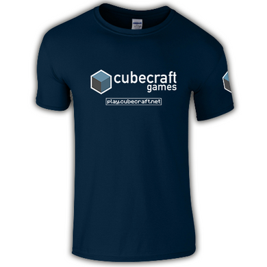 CubeCraft Logo T-Shirt