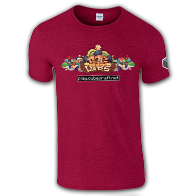 Limited Edition Christmas Red EggWars T-shirt