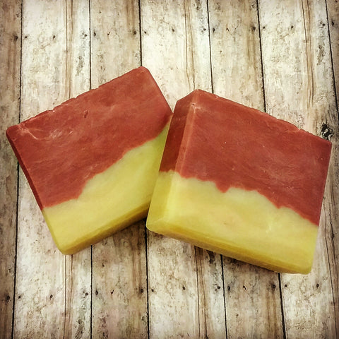 Orange Cranberry Soap! This Soap Smells AMAZINGLY Awesome! Made with All Natural Ingredients and Vegan Friendly!