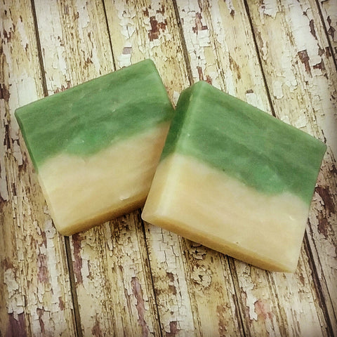 Cucumber Melon Soap with Aloe, Natural Ingredients and Vegan Friendly! This Soap Pairs Very Well with Our Cucumber Melon Body Butter!