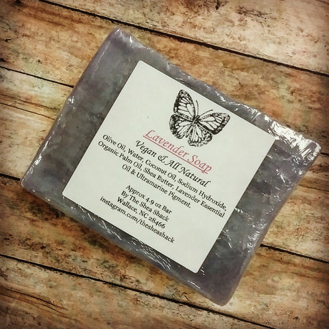 Lavender Soap (Vegan & All Natural) Experience the Relaxing & Calming Effects of Lavender!
