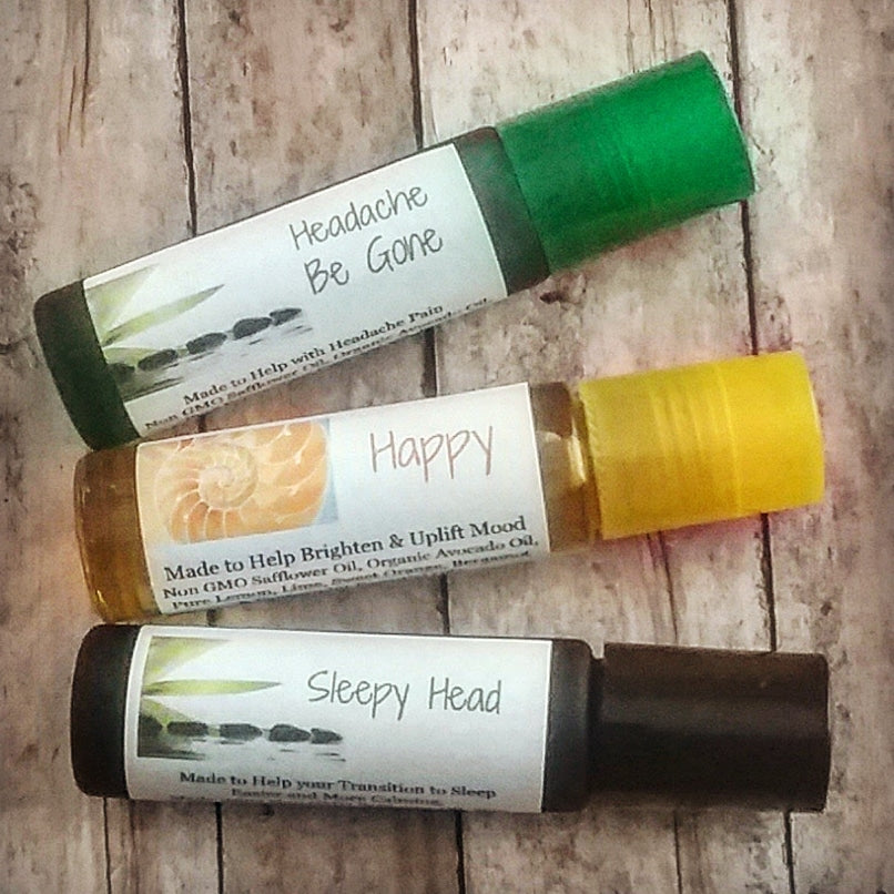 Herbal Oils for Mood, Anxiety or Sleep Issues!
