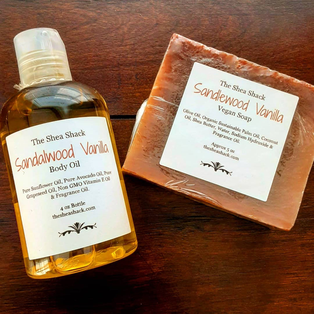 Sandalwood Vanilla Mini Set