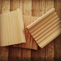 Wooden Soap Dish (Hardwood, All Natural and Rot Resistant) or Soap Saver (Choose ONE or BOTH)