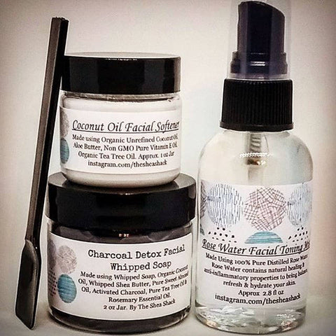 All Natural Facial Skin Care Sets & Facial Toners! No Chemicals, Vegan Friendly and Made for Acne Prone Skin! Hempseed Oil Facial Softener is also Available!
