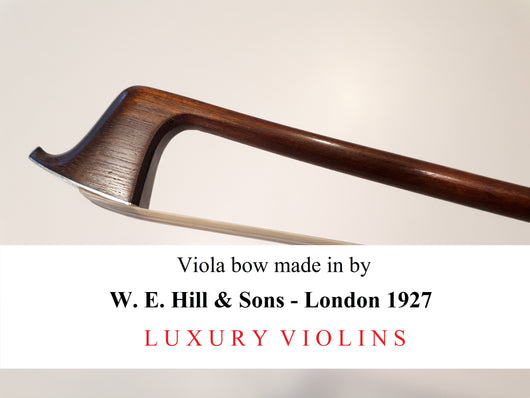 viola bow w e hill london price