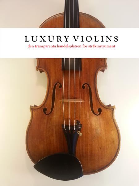 Violin -  F. Jacob Boumeester