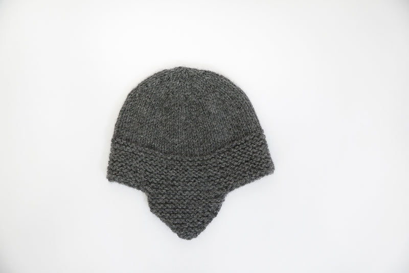 Clinton Hill Cashmere bebe helmet hat kit for knitting, worsted weight- Best cashmere yarn