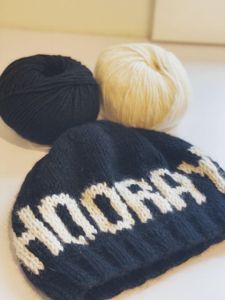 HOORAY 2021 Hat: Yarn Kit and Free Pattern!