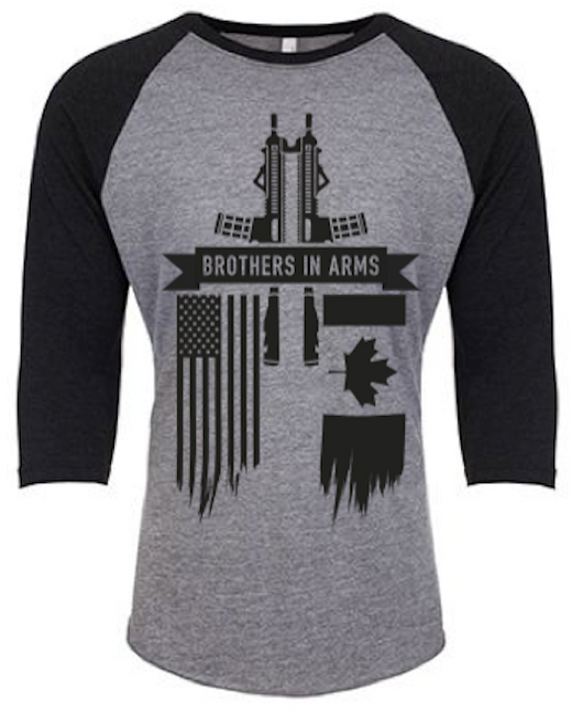 Brothers in Arms 3/4-Sleeve