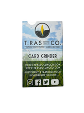 T.Ras Rolling Co. Card Grinder - T.Ras Rolling Co