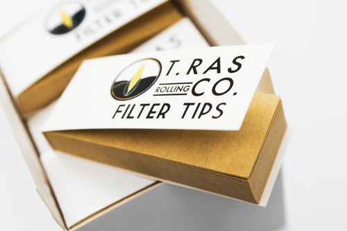 T.Ras Rolling Co. All Natural Filter Tips - T.Ras Rolling Co
