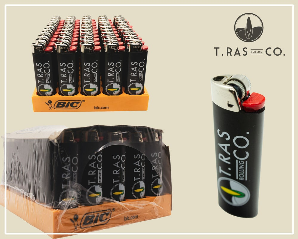 T.Ras Rolling Co. BIC Lighter 50 Pack - T.Ras Rolling Co