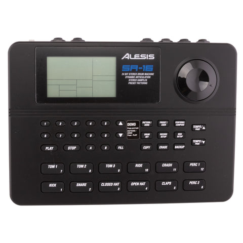 Alesis SR-16 Drum Machine w/ OEM Docs and Packaging