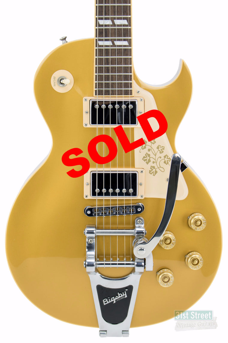 Gibson Les Paul 295 Gold Top 2008 (May 2008 Guitar of the month)