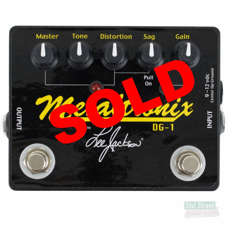 Lee Jackson Metaltronix DG-1