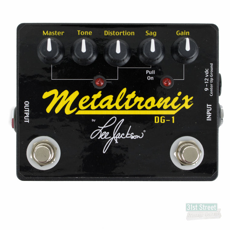 Lee Jackson DG-1 Metaltronix