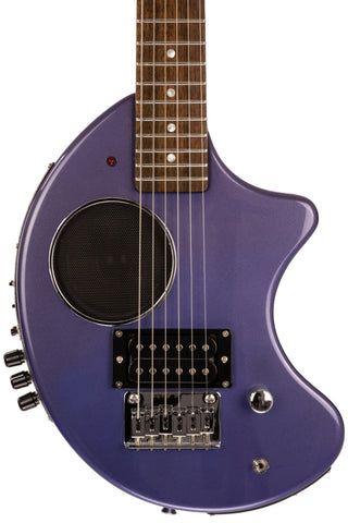 Fernandes Nomad Deluxe w/ Digitech Effects, Purple