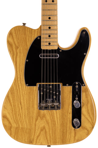 1977-78 Fender Standard Telecaster, Natural Finish