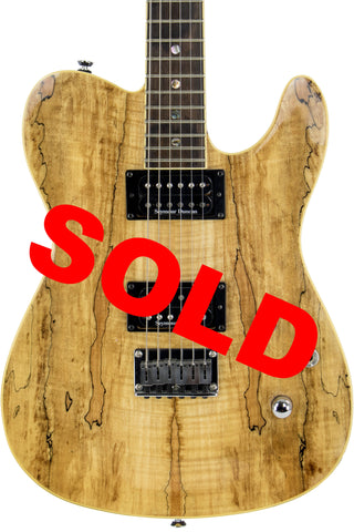 Fender Telecaster Special Edition Custom Spalted Maple