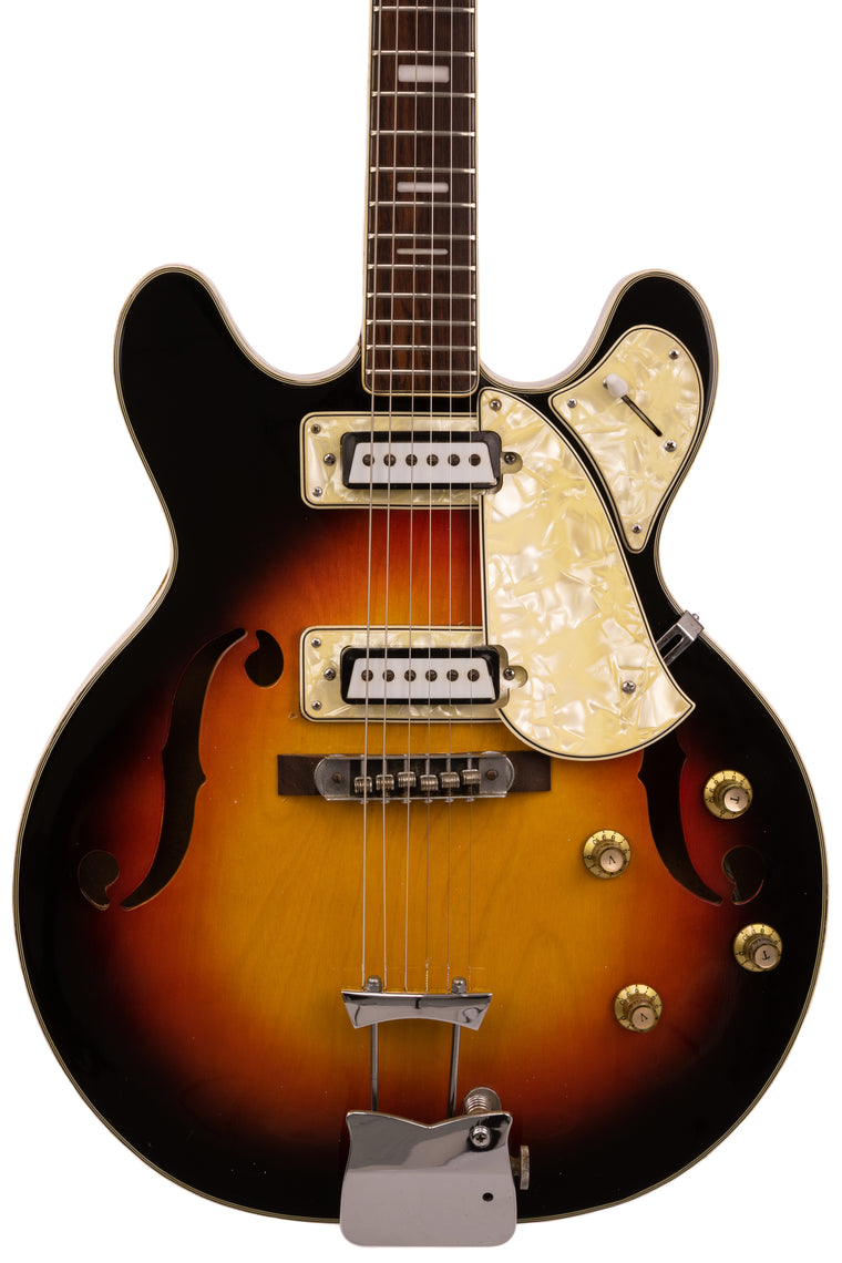 1960s MaxiTone Bruno Semi-Hollow Electric, Vintage Japanese