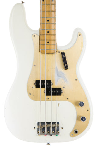 1958 Fender P-Bass, Olympic White Refinish