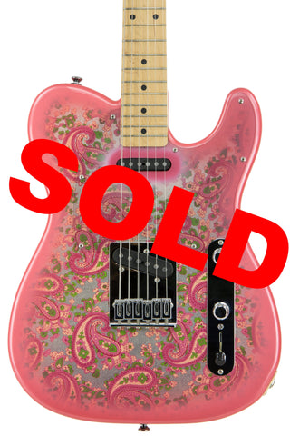 Fender Pink Paisley Telecaster 1994-95