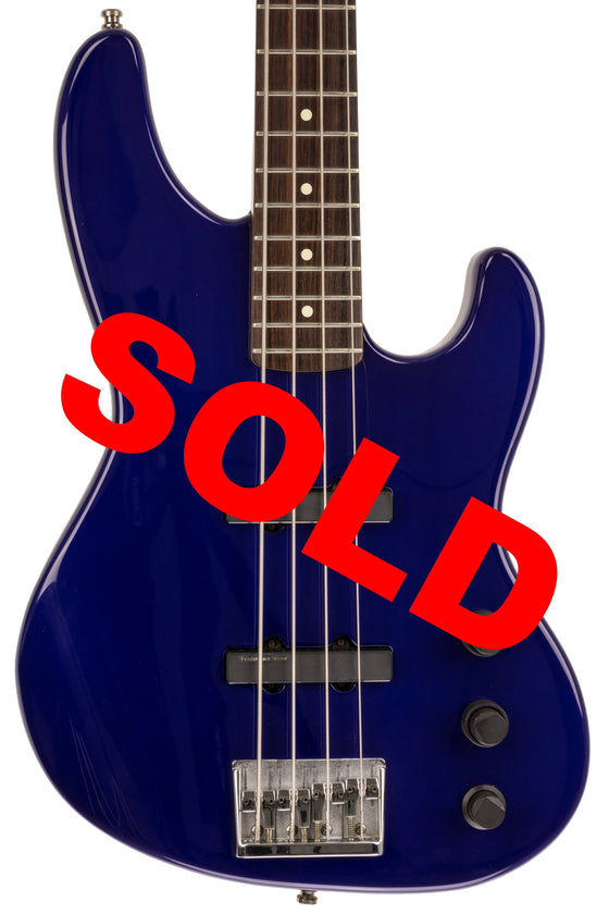 1990s Fender Jazz Bass Plus, Midnight Blue