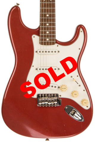 Fender MIM Stratocaster, mid-90's Red Finish