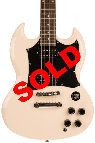 2010 Epiphone SG G-310, Off-White