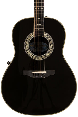 1983 Ovation Glen Campbell 1627 Balladeer, Black