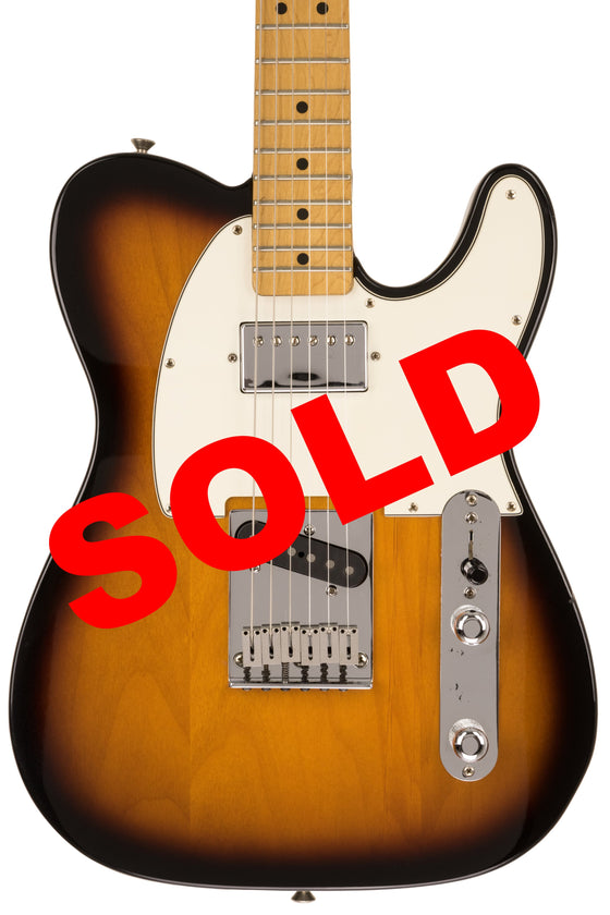 1997 Fender California Fat Telecaster, Sunburst