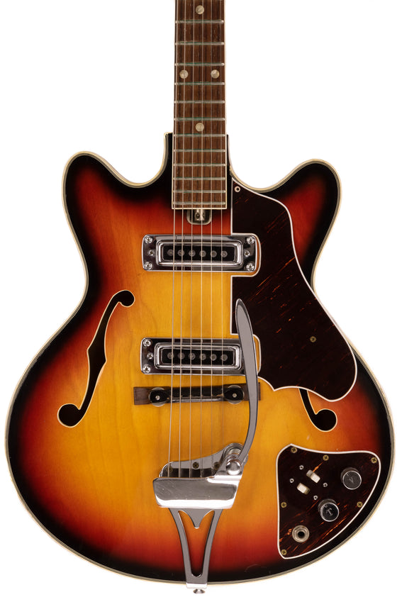 1960s Japanese Made Silvertone Hollowbody